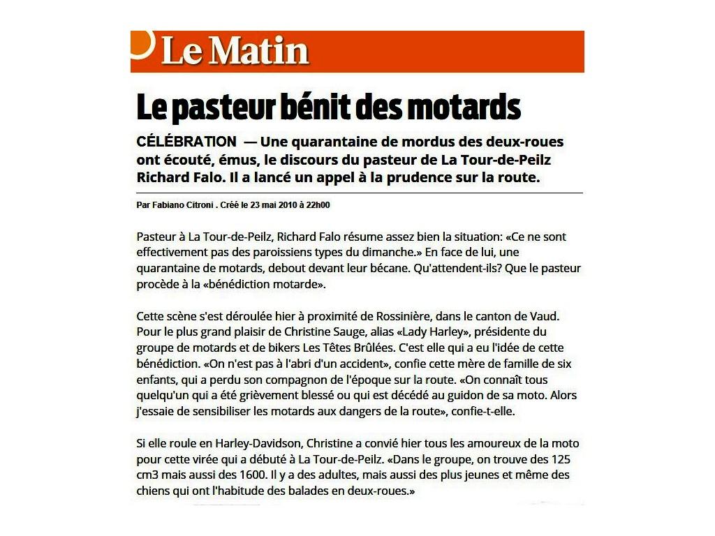 Le Matin 2010
