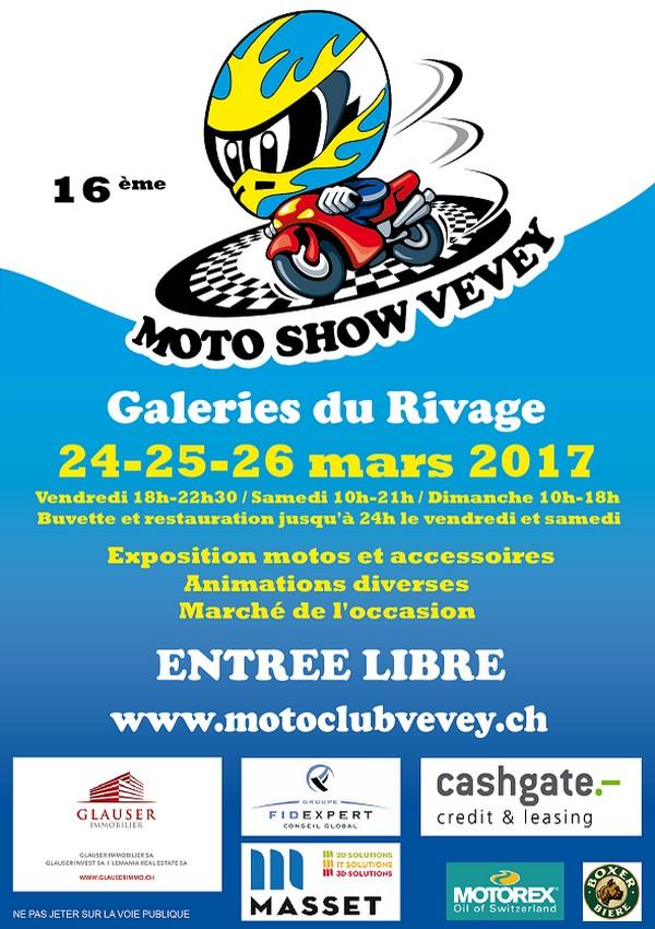 Affiche moto club vevey 2017